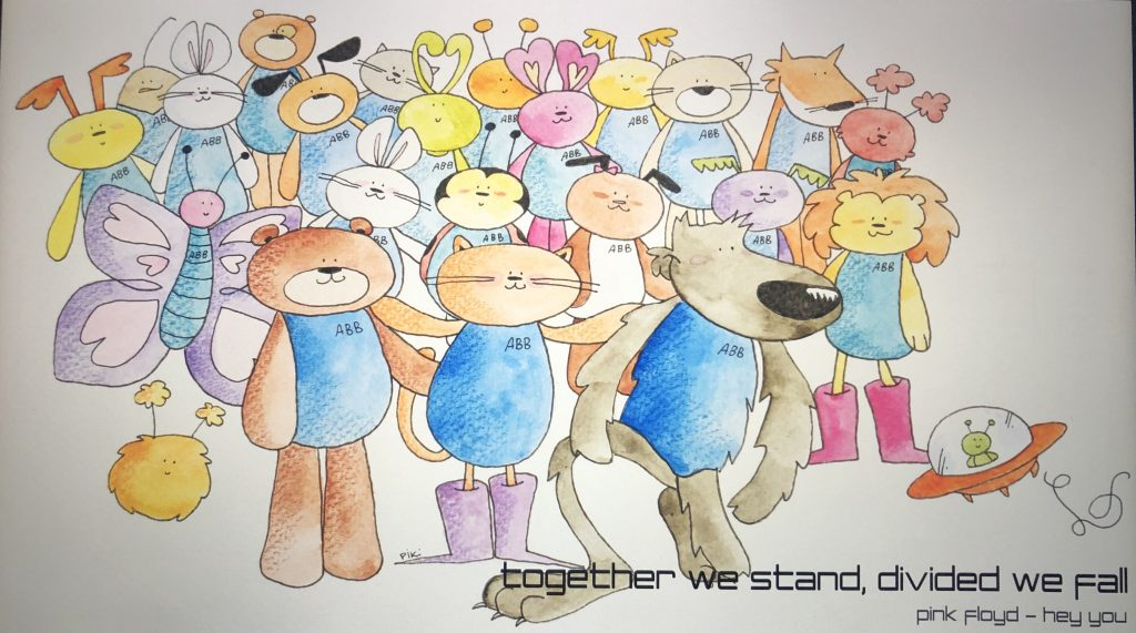 Together we stand, divided we fall*.